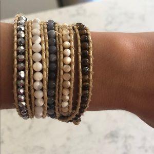 Lizou Wrap Bracelet